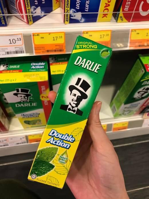 ダーリーの歯磨き粉