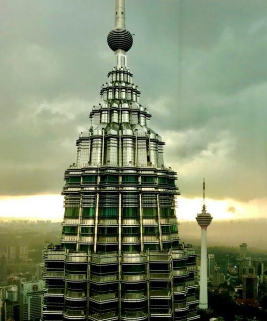ツインタワーとKLタワー